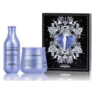 BLONDIFIER shampoo + mascara